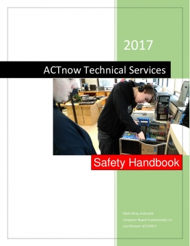 ACTnow Techinical Services Safety Handbook