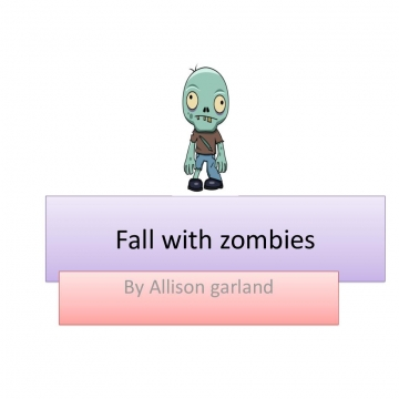 Fall with zombies