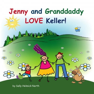 Jenny and Granddaddy LOVE Keller!
