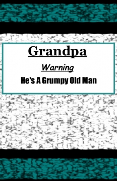 Grandpa's Grumpy lined Journal