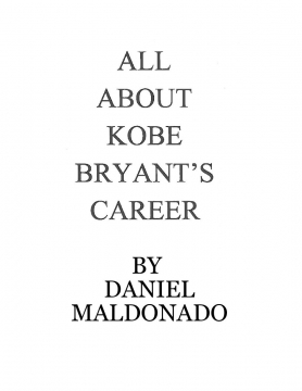 All About Kobe Bryant