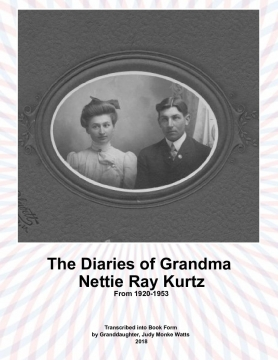 Diaries of Nettie Ray Kurtz (B&W)