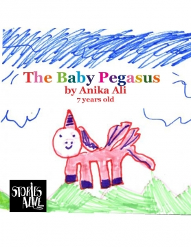The Baby Pegasus and ANIKA V.S. THE BLOB!