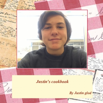 Justin's cook book