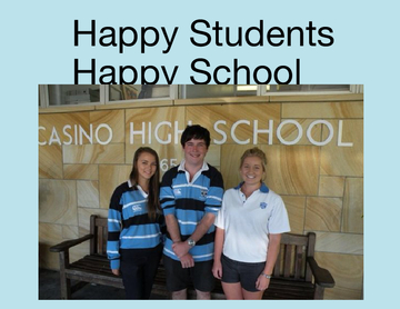 Happy Students Happy School