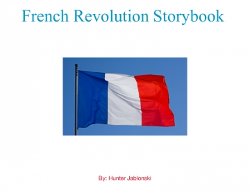 French Revolution Storybook