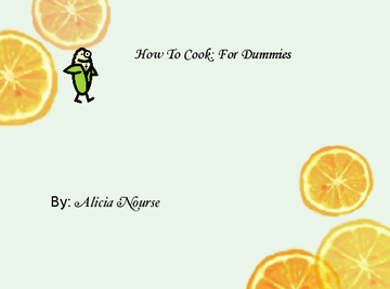 How to cook: for dummies