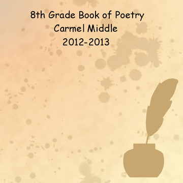 2013 8th Grade Book of Poetry