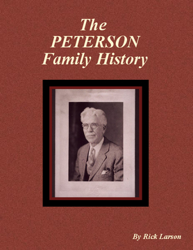 The Peterson Family History