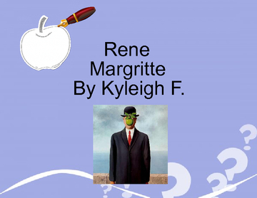Rene Magritte by Kyleigh