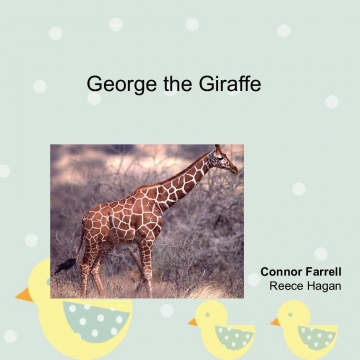George the Giraffe