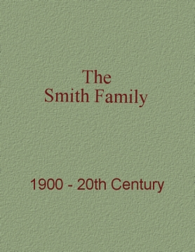 Smith Family History Book