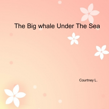 The Big Whale Under The Sea