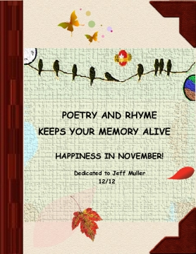 Poetry and Rhyme Keeps your Memory Alive