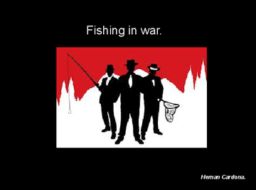 Fishing in war