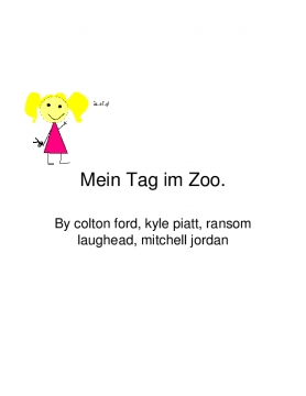 Mein Tag im Zoo