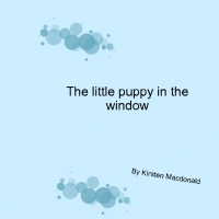 the little puppy in the window