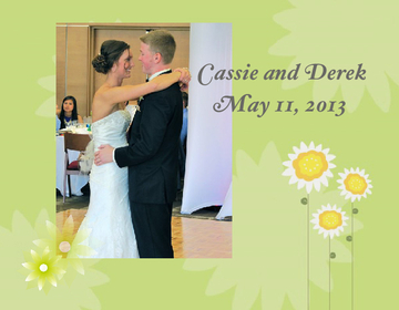 Cassie and Derek's Wedding Day