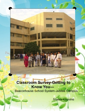 Classroom Survey-Getting to Know You---