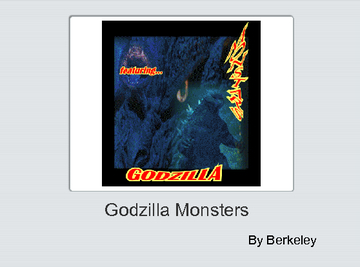 Godzilla monsters