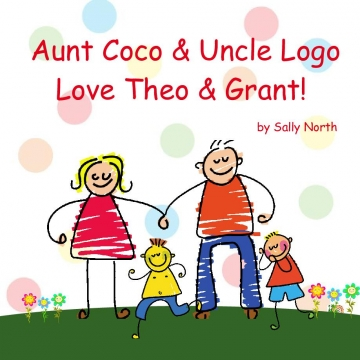 Aunt Coco & Uncle Logo Love Theo & Grant!