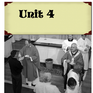 Unit 4 Mass and sacraments