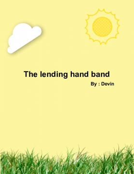 The lending hand band