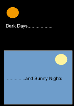 Dark Days and Sunny Nights