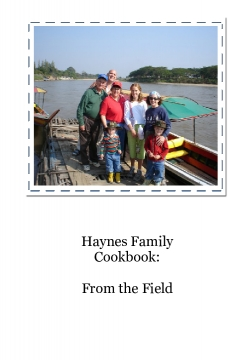 Haynes Family Cookbook