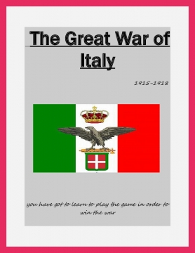 great war of italy