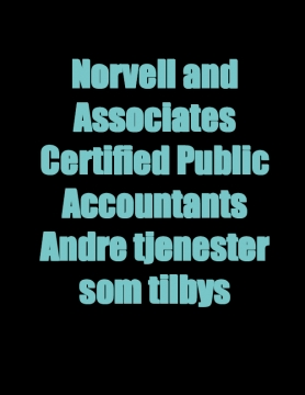 Norvell and Associates Certified Public Accountants Andre tjenester som tilbys