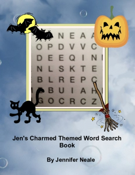 Jen's Charmed Themed Word Search Book