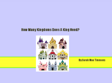 How Many Kingdoms Does A King Need?