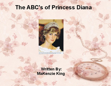 The ABC's of Princess Diana