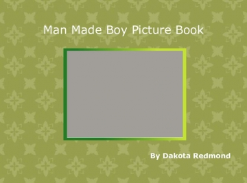 Man Made boy Picture Book