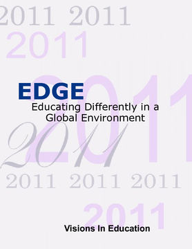 EDGE 2011/2012 Yearbook