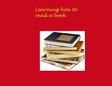 Learning how to read a book