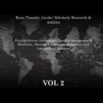 Ryan Timothy Jacobs' Scholarly Research & Articles