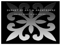 Survey of Art & Architecture I