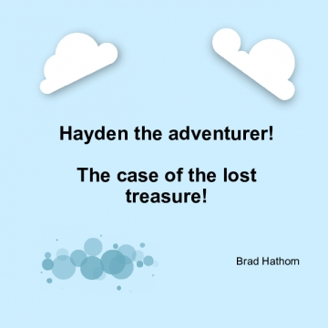 Hayden the adventure