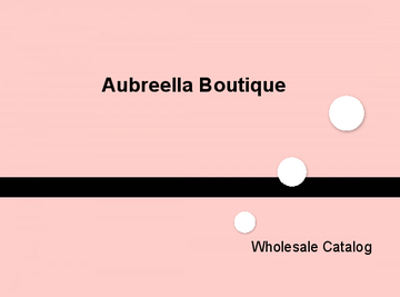 Aubreella Boutique 2013/2014 Catalog