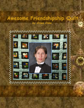 Awesome Friendship Quilt