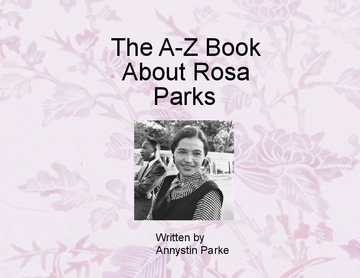 ABC book about Rosa Parks