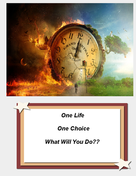 One Life One Choice What Will You Do