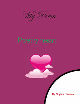 Poetry heart