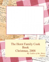 Horst Family Cook Book