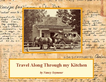 Travels Through my Kitchen