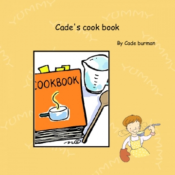 Cade's cook book