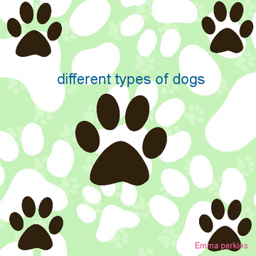 Diffrent types of dogs.