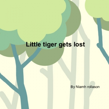 Little tiger gets lost